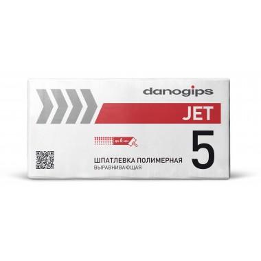 купить Шпаклевка DANOGIPS Dano JET5 25кг полимерная выравнивающая в Саранске