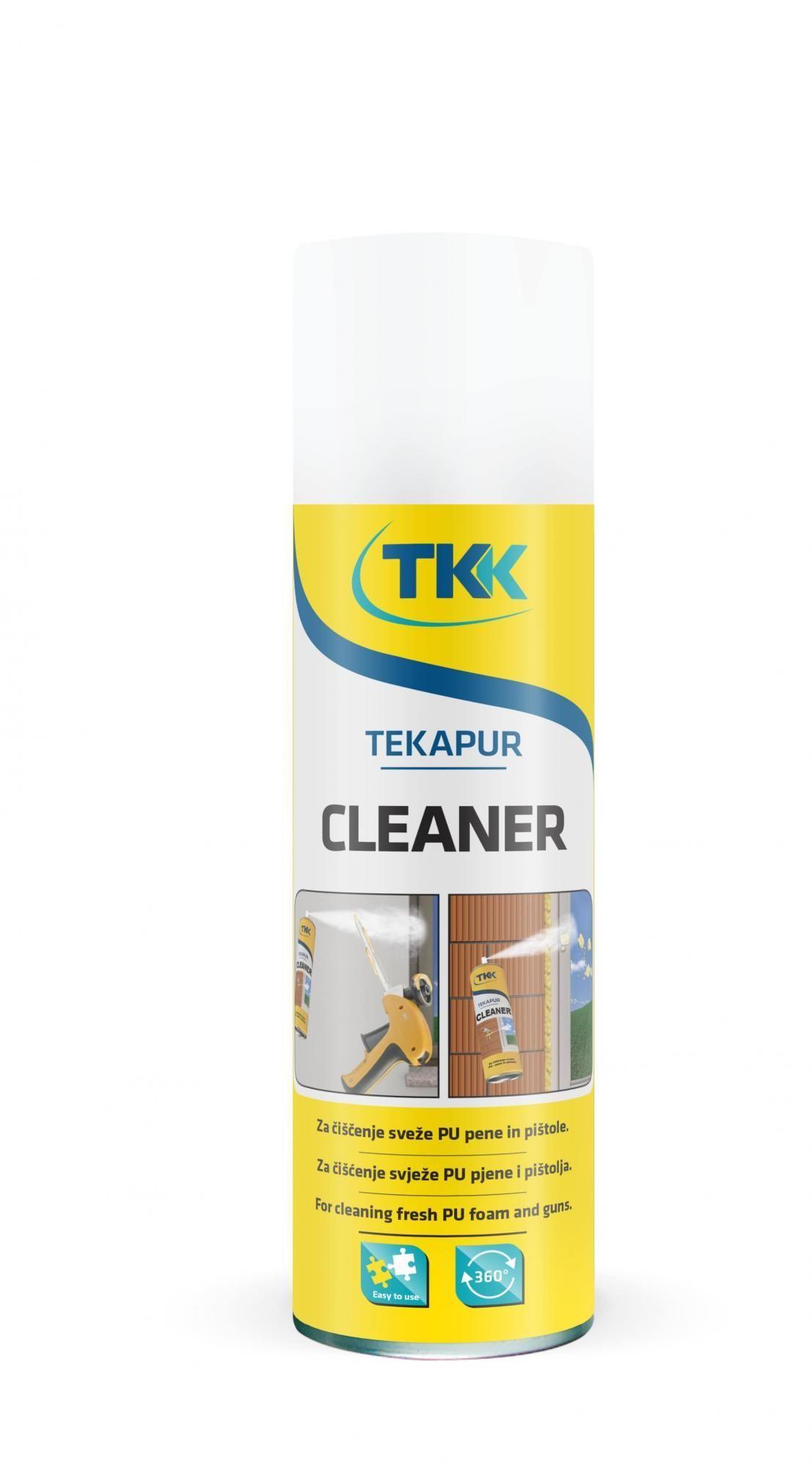 Очиститель монтажной пены Tekapur Cleaner 500мл (88888) - фото