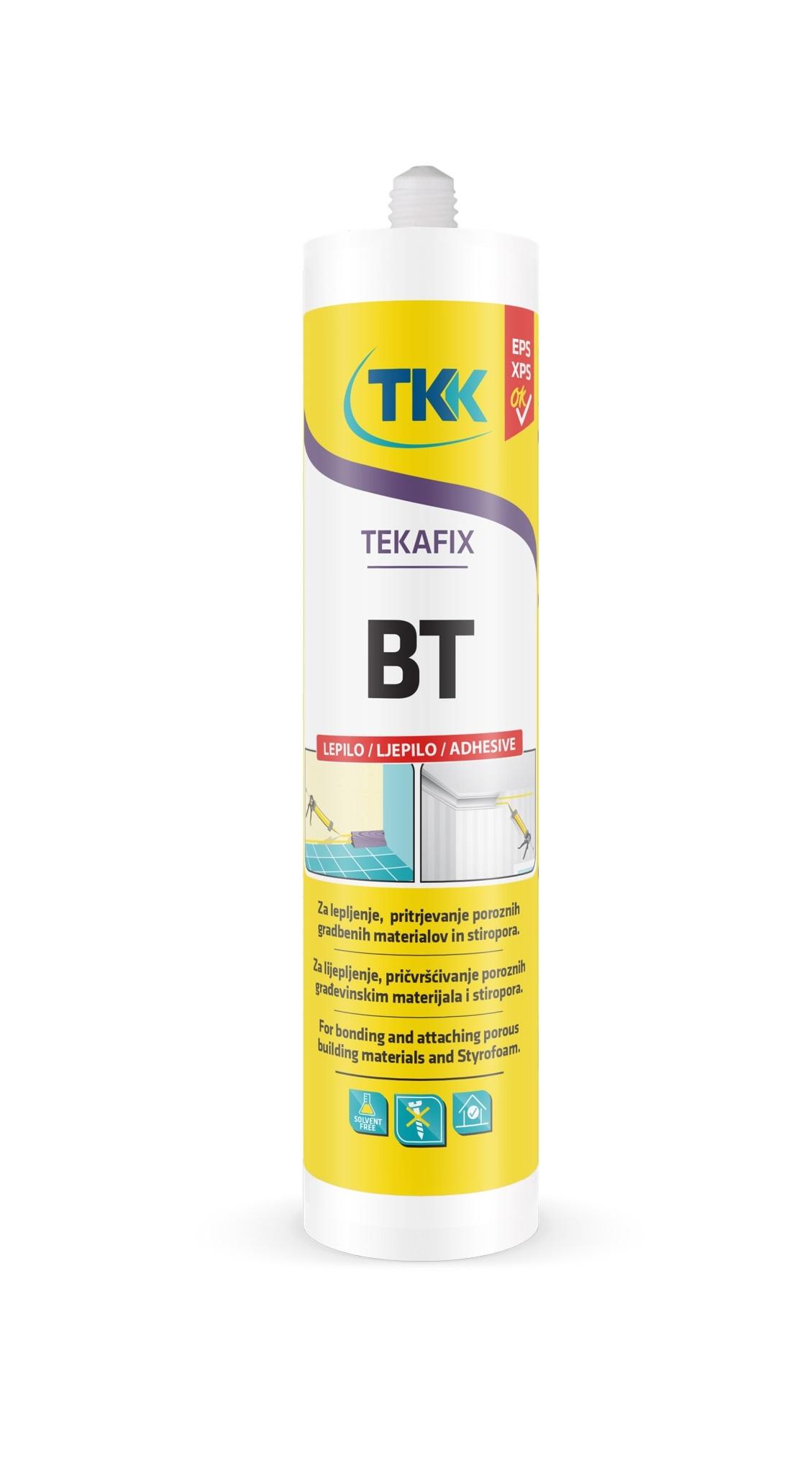 Клей монтажный для стиропора Tekafiks BT 300мл - фото