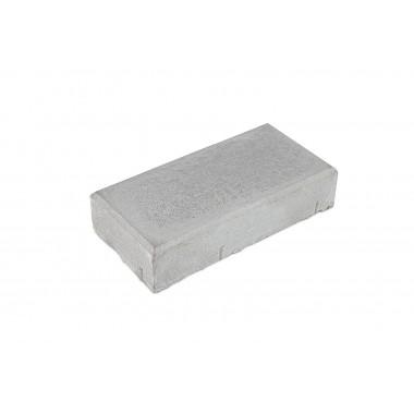 купить Тротуарная плитка Кирпичик 200*100*40мм Standart (серая) в Саранске