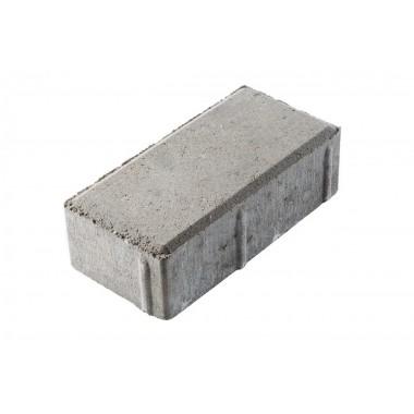 купить Тротуарная плитка Кирпичик 200*100*60мм Standart (серая) в Саранске