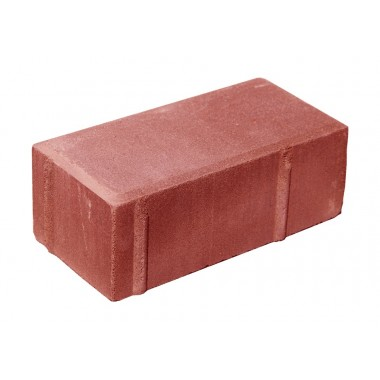 купить Тротуарная плитка Кирпичик 200*100*60мм Standart (красная) в Саранске