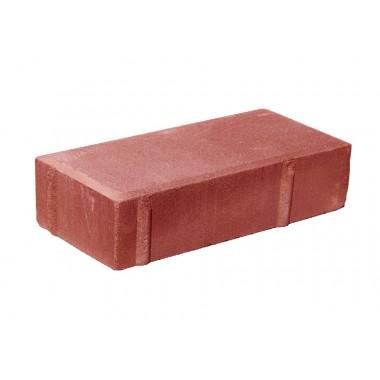 купить Тротуарная плитка Кирпичик 200*100*40мм Standart (красная) в Саранске