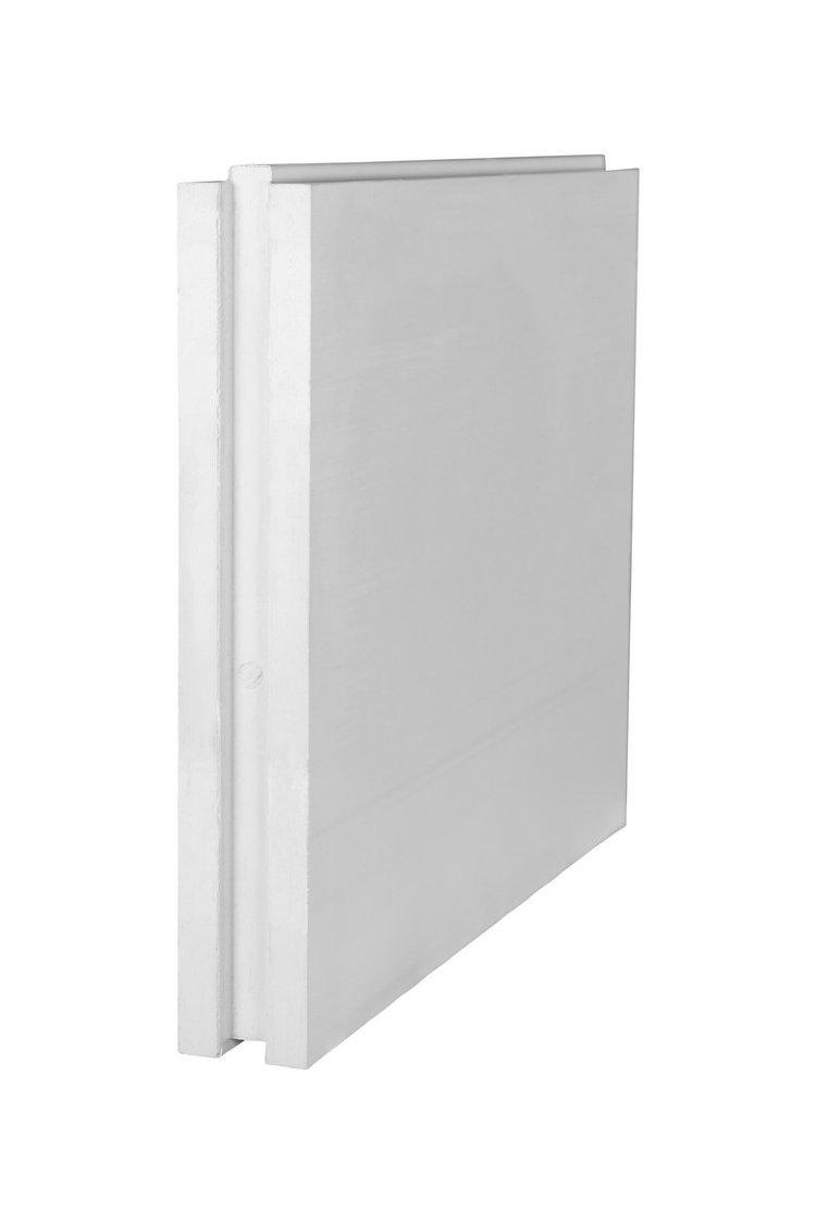Плита пазогребневая для стен и перегородок 667*500*80 мм - фото