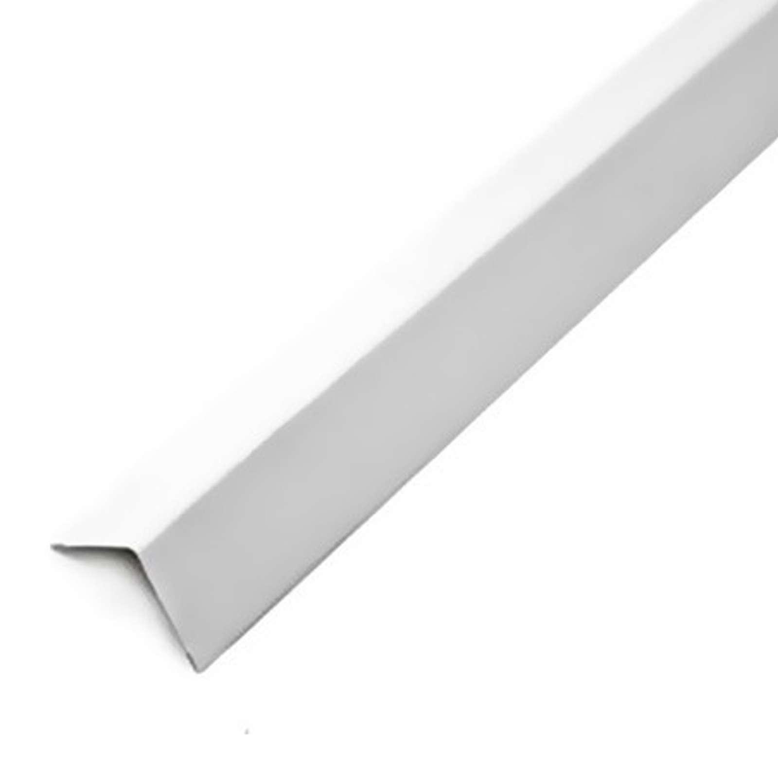 Уголок потолочный белый 19x19 (стальной) 3м (70) - фото