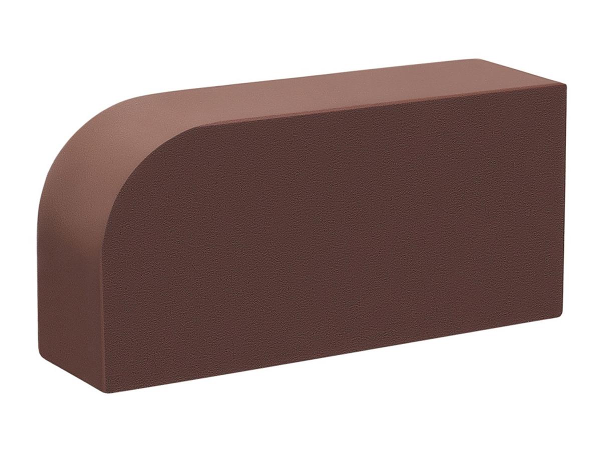Кирпич печной КС-Керамик 1НФ R60 /300/50 (250*120*65) темный шоколад - фото