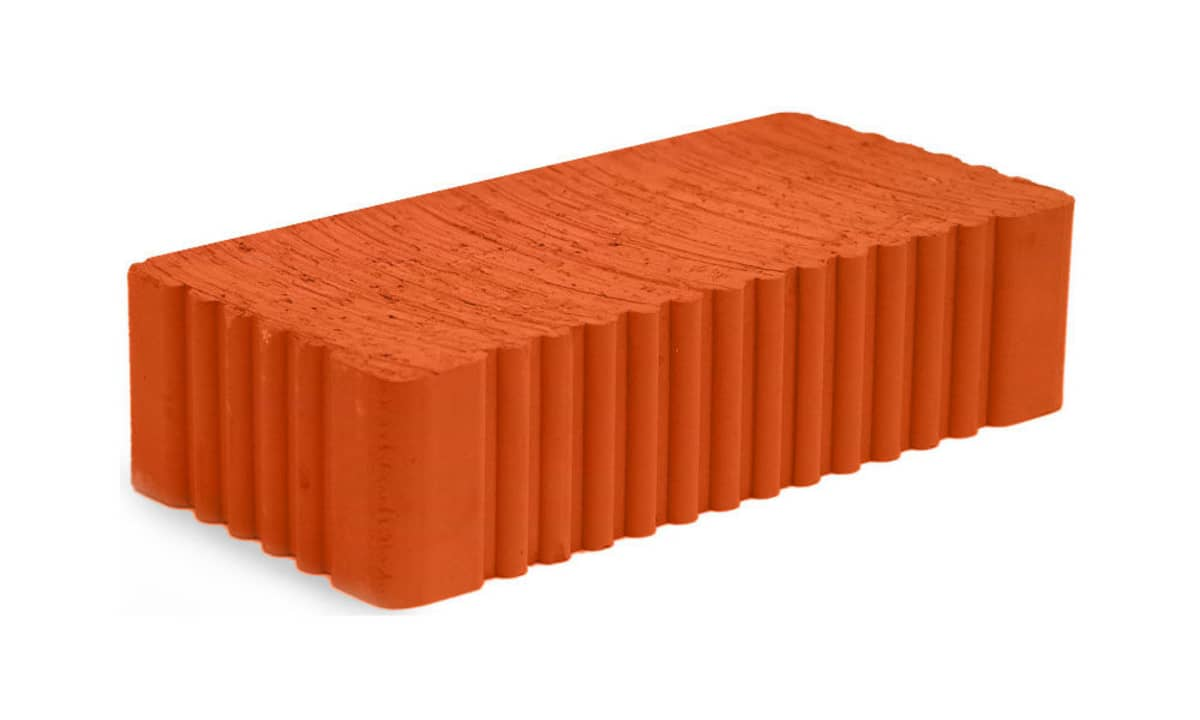Кирпич СЗКИ керамический утолщенный полнотелый М-125 - фото