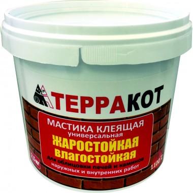 купить Мастика универсальная Терракот 2,5 кг в Саранске
