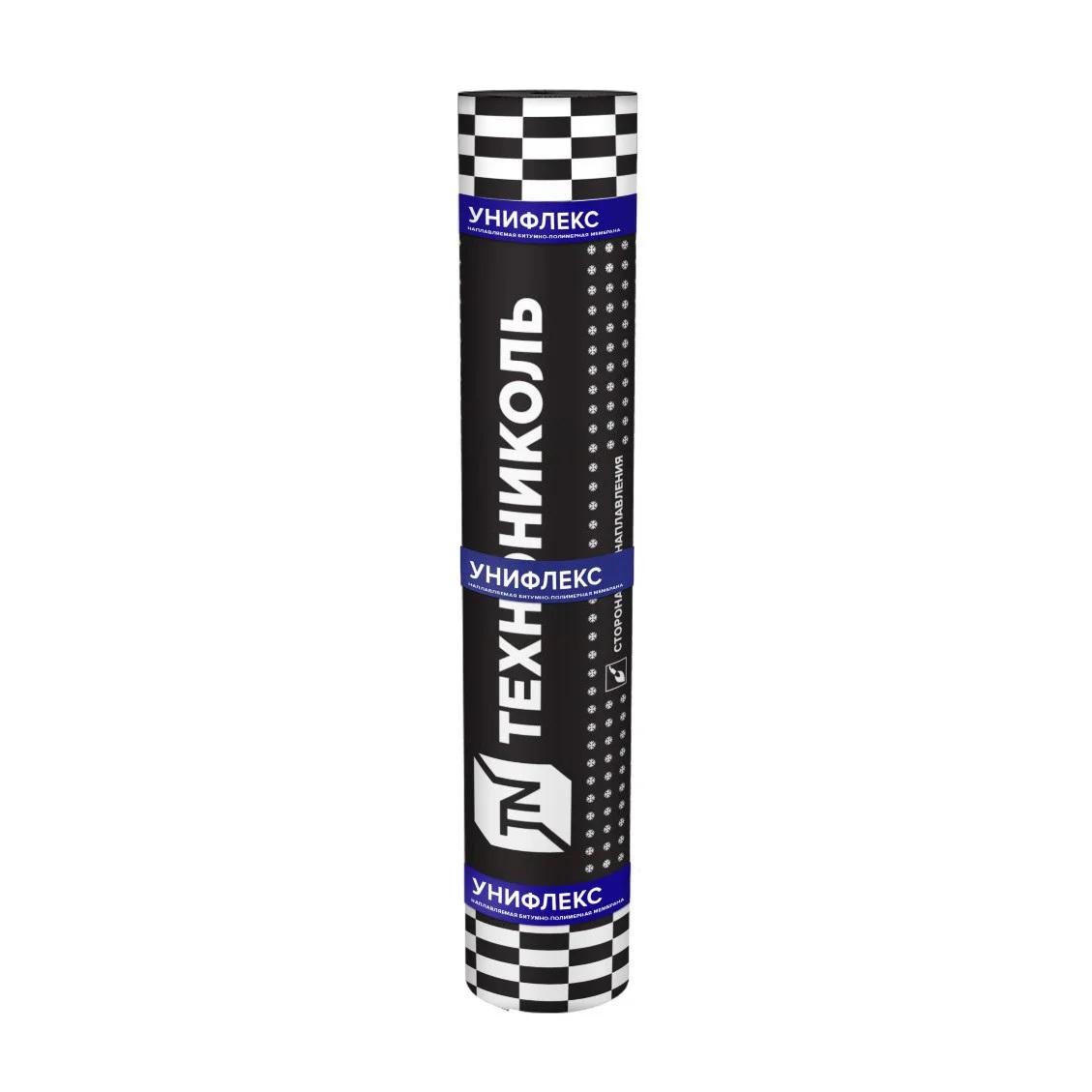 Рулонная кровля Унифлекс ТКП сланец серый 10м2 Технониколь - фото
