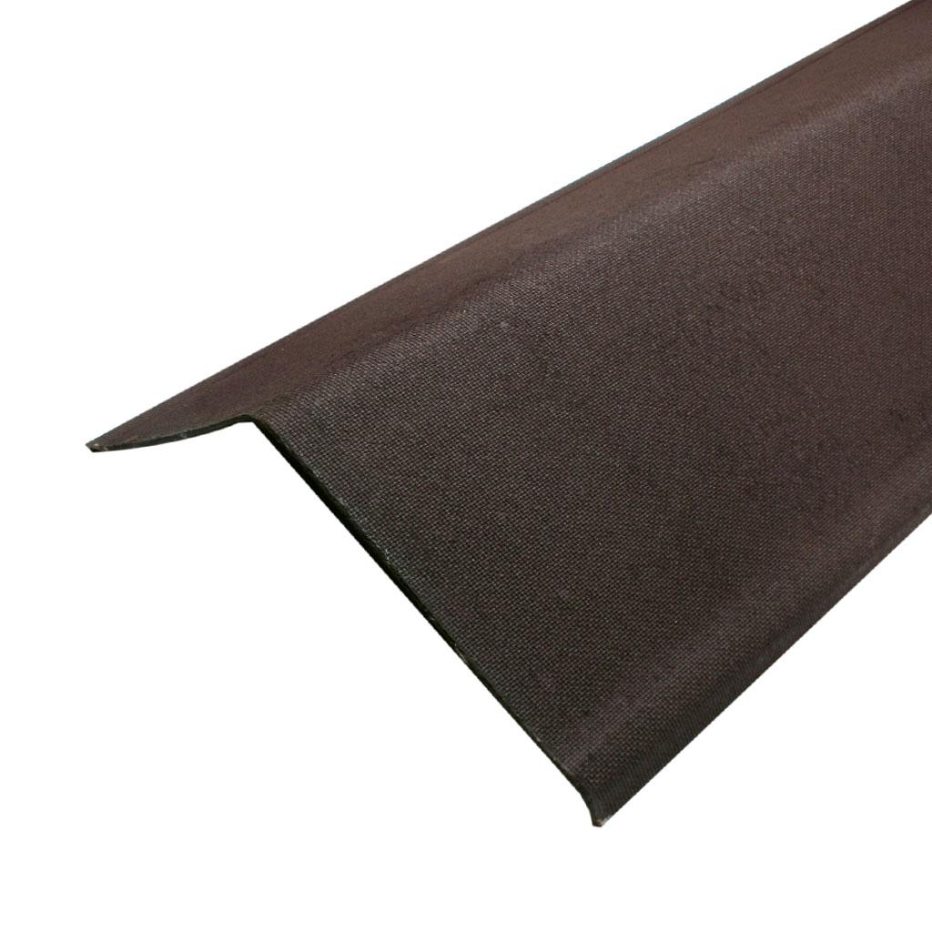 Профиль щипцовый коричневый 100см - фото