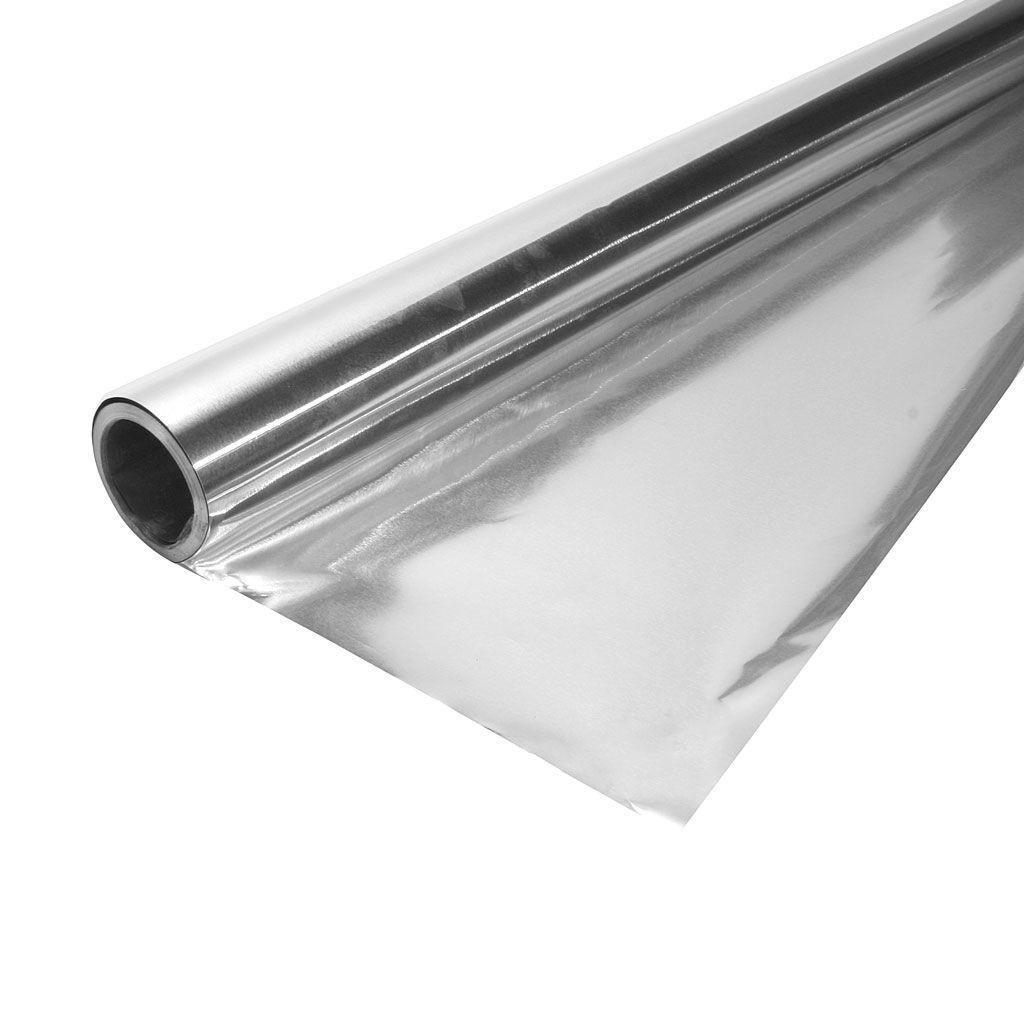Фольга алюминиевая для бань и саун 1,2*10м (12м2) 50мкм - фото
