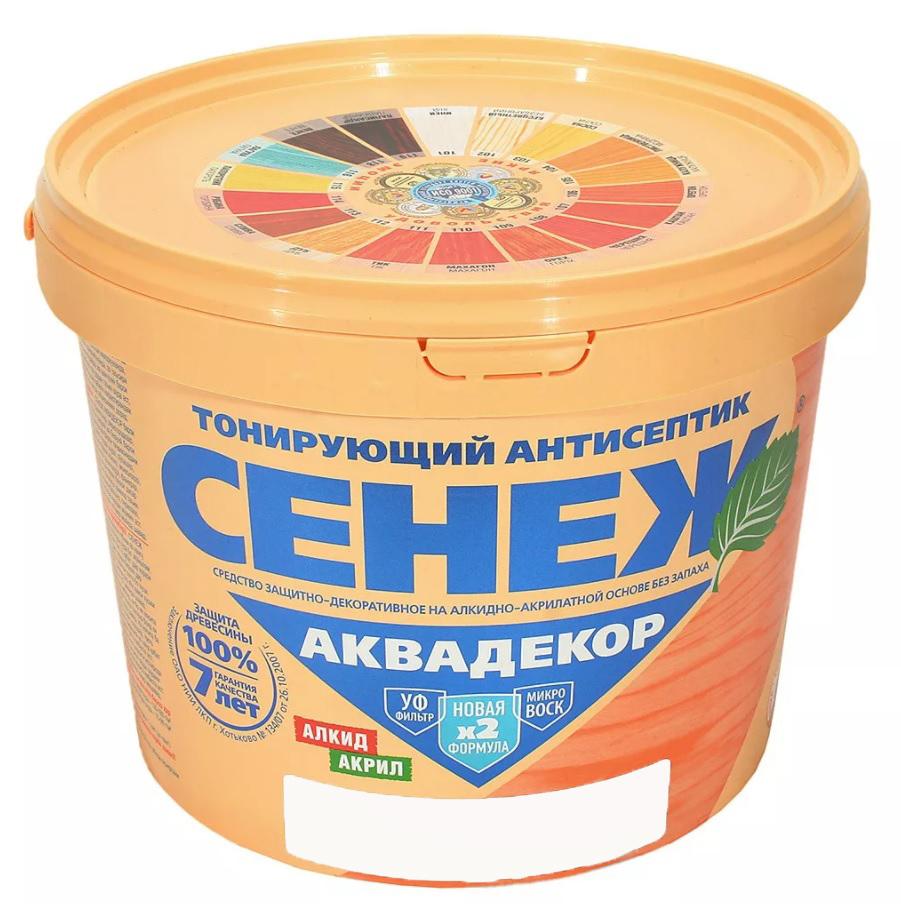 СЕНЕЖ АКВАДЕКОР (Х2-112 дуб) 2,5 кг - фото