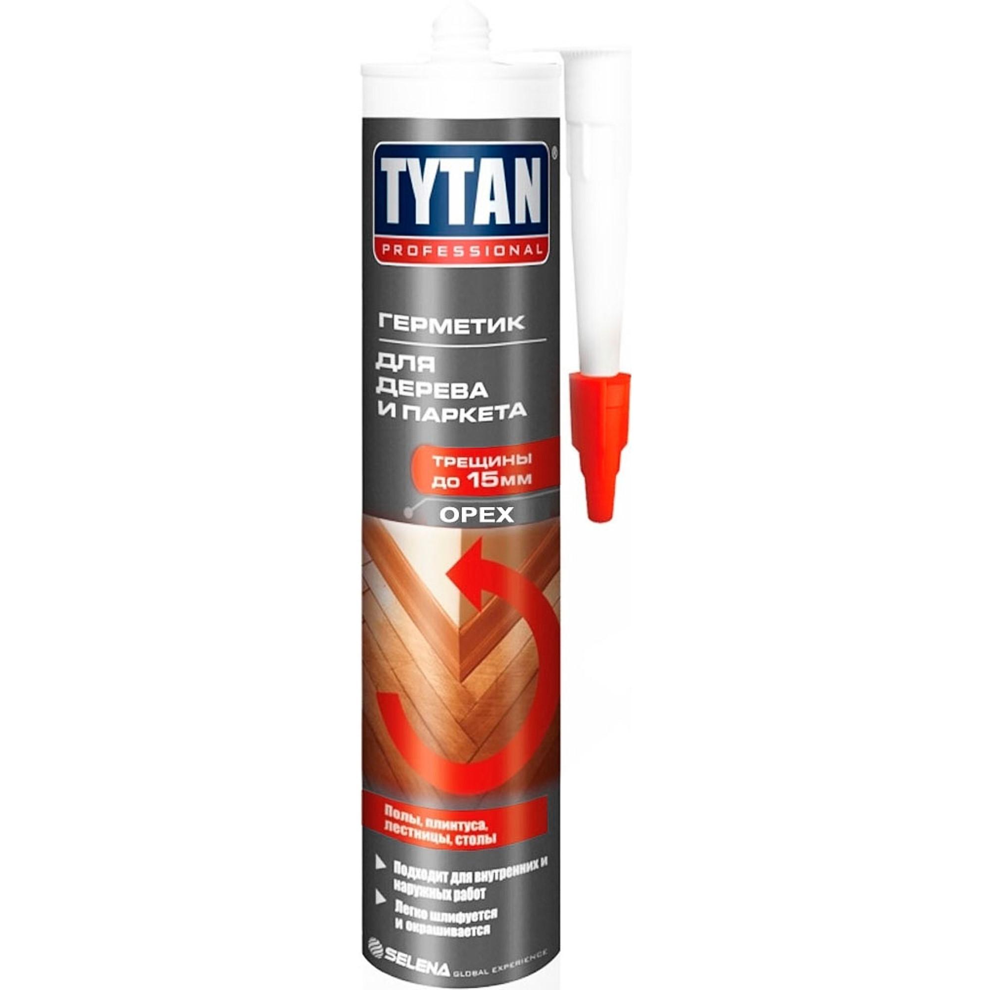Герметик для древесины TYTAN орех 310мл - фото