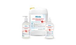 Средство для дезинфекции рук и поверх. Niola (0.5л)