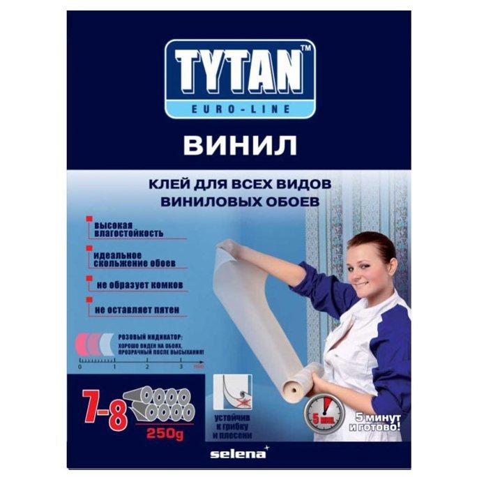 Клей для обоев виниловых TYTAN EUROLINE 250г - фото