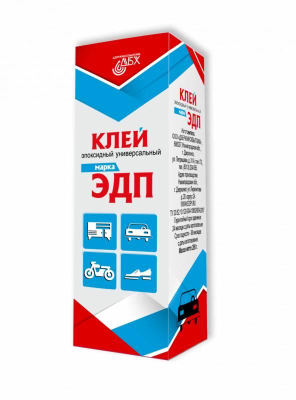 Клей эпоксидный универсальный ЭДП 140г Дзержинск - фото