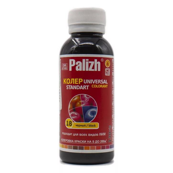 Колер универсальный Palizh №18 черный 100мл - фото