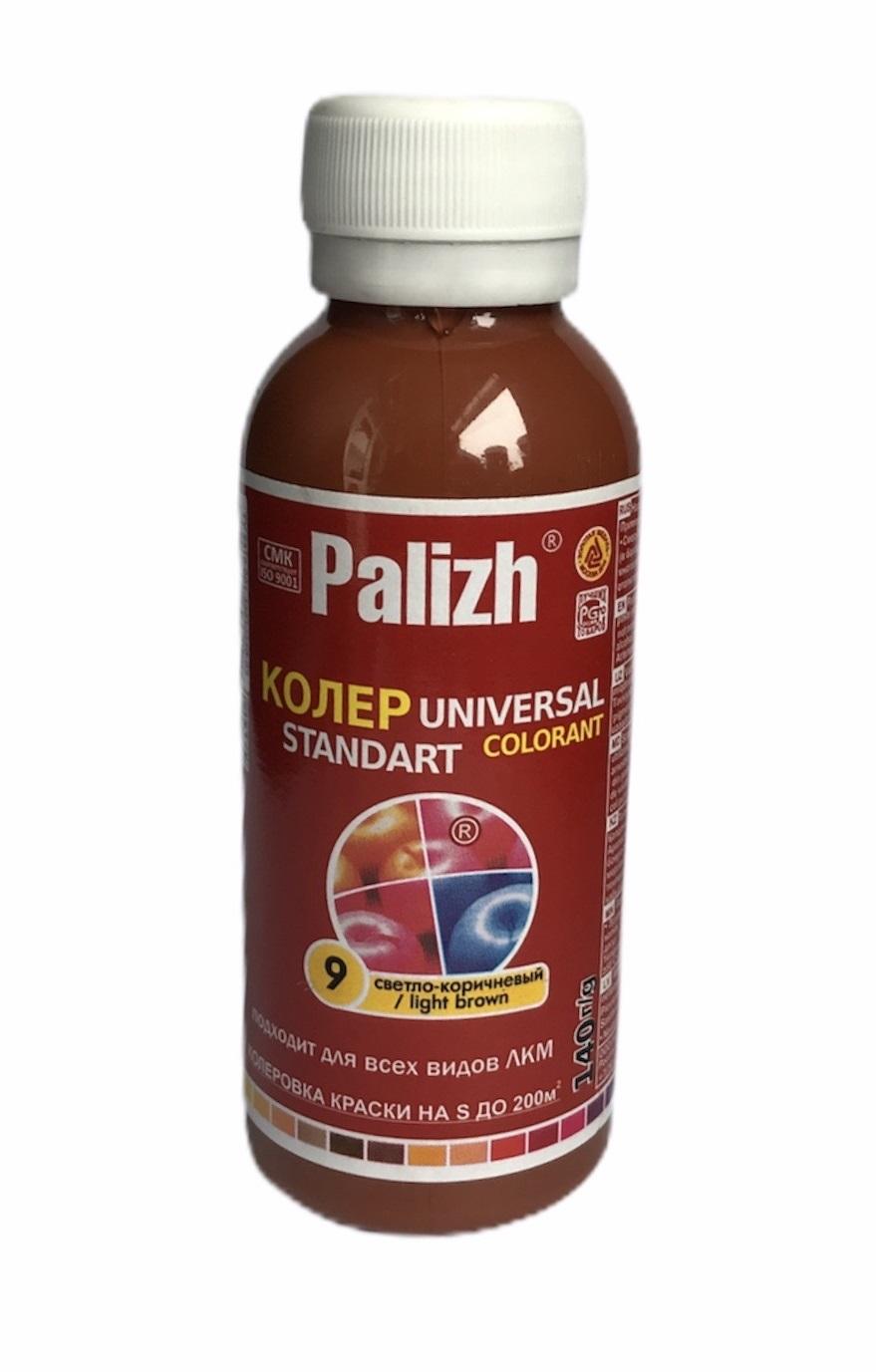 Колер универсальный Palizh №09 светло-корич. 100мл - фото