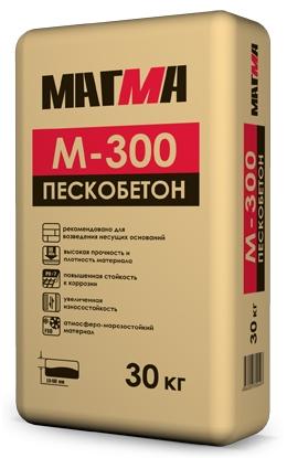 Пескобетон М-300 30 кг Магма - фото