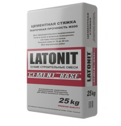 "Цементная стяжка LATONIT ""CEMENT BASE"" 25 кг"