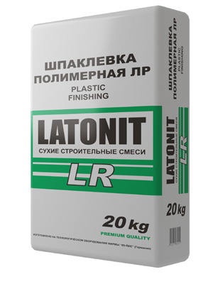 Шпатлевка полимерная финишная белая 20 кг Latonit - фото