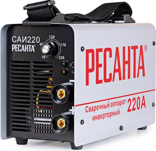 Сварочный аппарат инверторный САИ 220 Ресанта 65/3 - фото