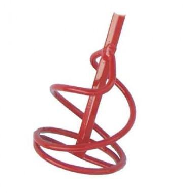 купить Насадка-миксер для краски объемом до 10кг, окрашенный, 100*400мм в Саранске